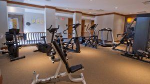 First Tracks Lodge fitness room