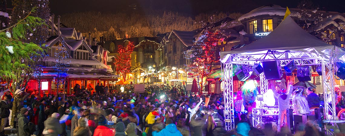 Whistler Village New Year's Celebration