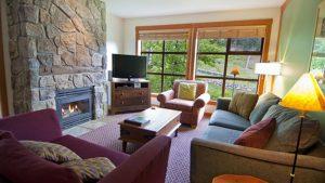 Legends Whistler 2 bed living room
