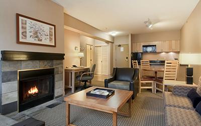 hilton 1 bed suite