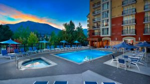 Hilton Whistler Pool Area