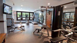 Legends Whistler Fitness Room