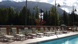 Pan Pacific Whistler Village Pool Area