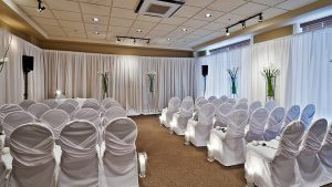 Sundial Boutique Hotel Wedding Room