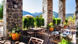 Grill and Vine Patio - Westin Whistler