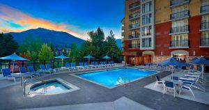 Hilton Whistler Pool Area
