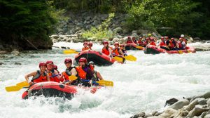 Summer Activities White Water Rafting