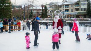 Skate With Santa Whistler
