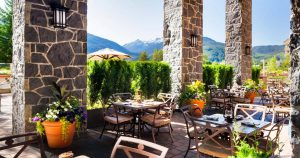 The Westin Whistler Patio