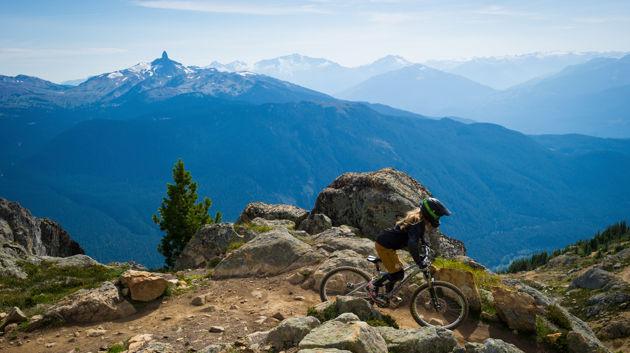 Biking in Whistler