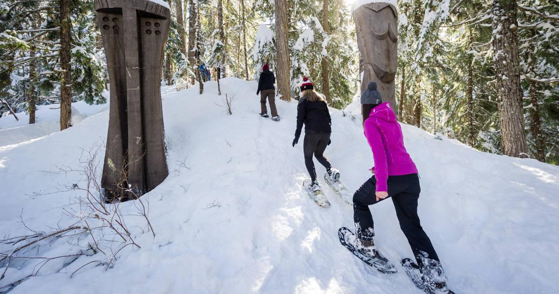 Snowshoeing Whistler