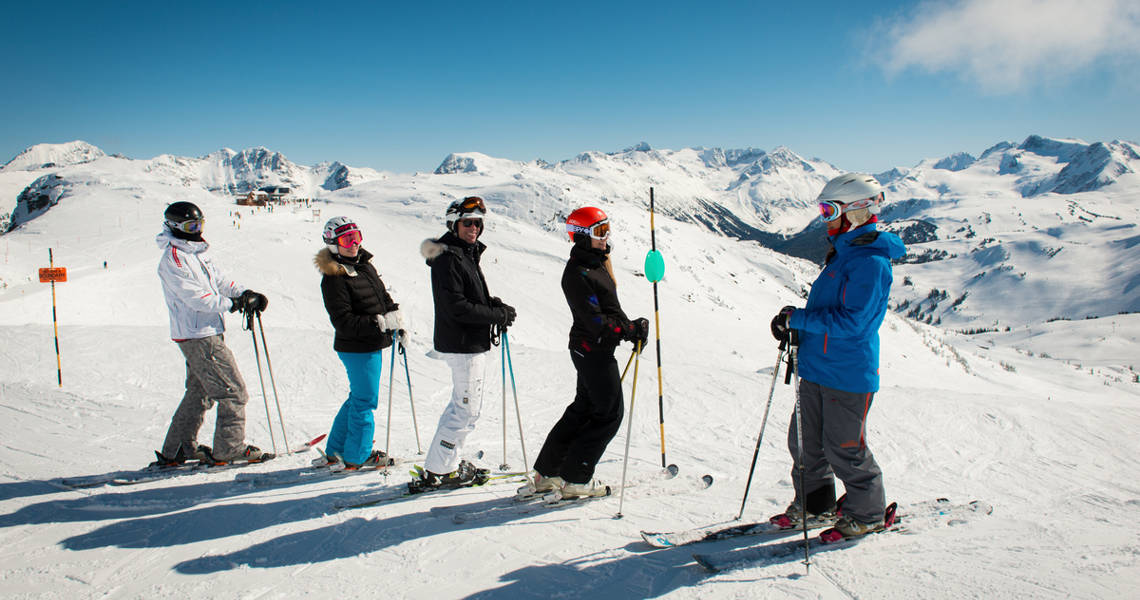 Ability Levels for Whistler Ski School