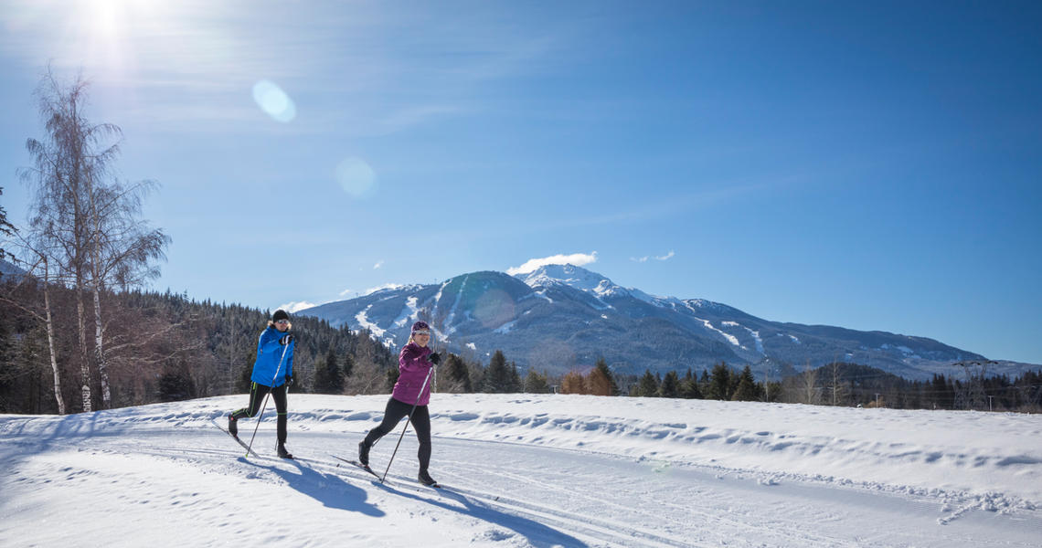 Cross Country Skiing Whistler
