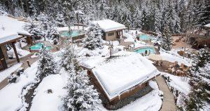 Whistler Scandinave Spa Winter