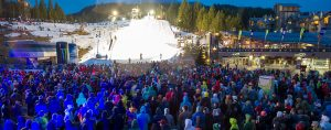 Whistler Ski and Snowboard Festival Crowd