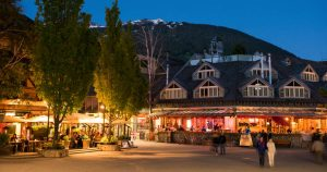 Whistler Village Square Accommodations Summer