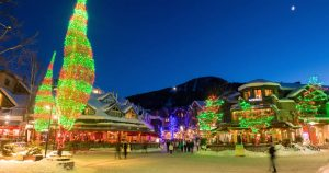 Whistler Village Square Winter