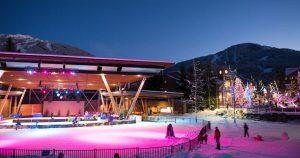 Whistler Olympic Plaza Skating