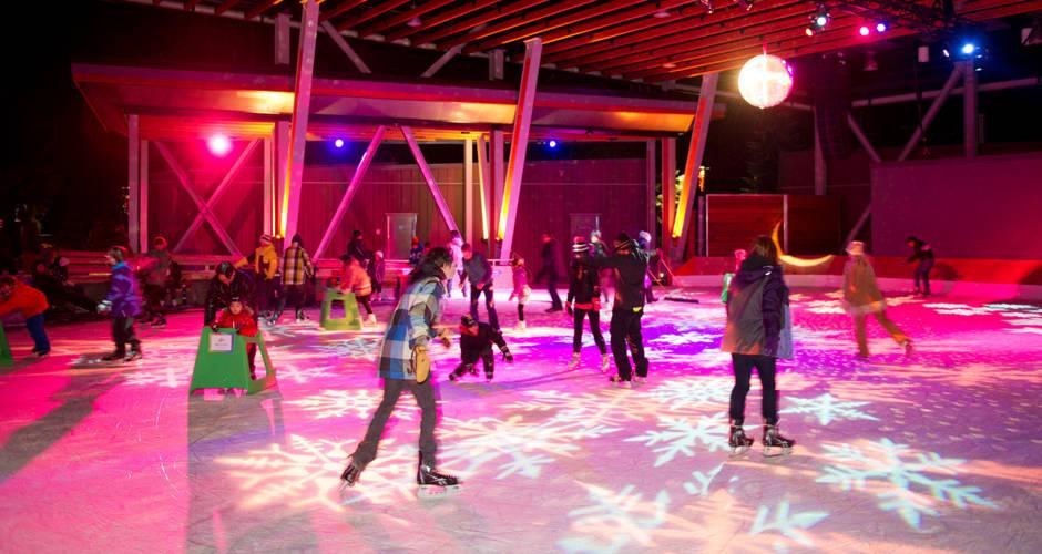 Whistler Olympic Plaza Skating Rink
