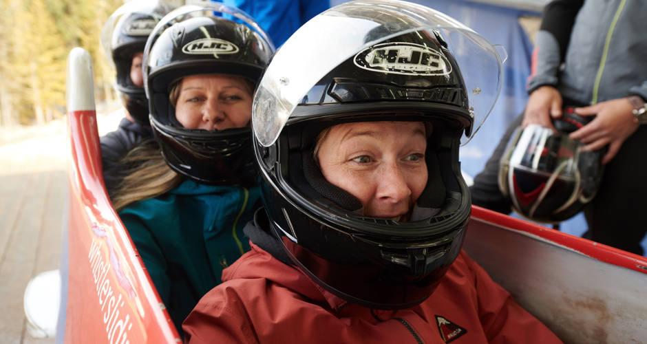 Whistler Sliding Centre Experience