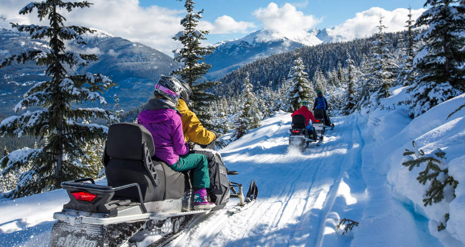 Whistler Snowmobile Tour