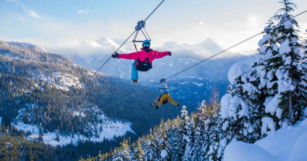 Whistler Winter Activities Zipline