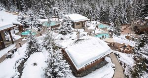 Scandinave Spa Whistler Winter