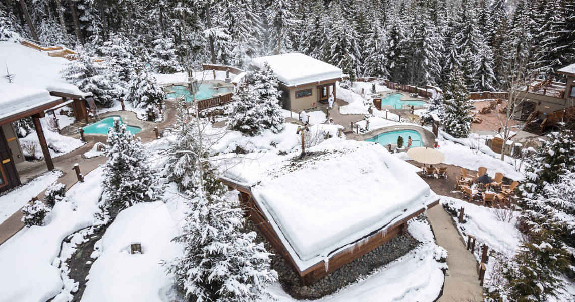 Whistler Scandinave Spa Winter