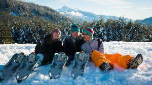 Whistler Snow Shoeing