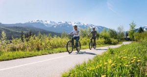 Recreational Biking Whistler Valley Trail
