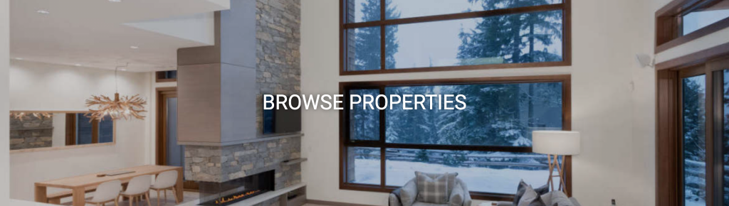 Browse Whistler Vacation Rentals