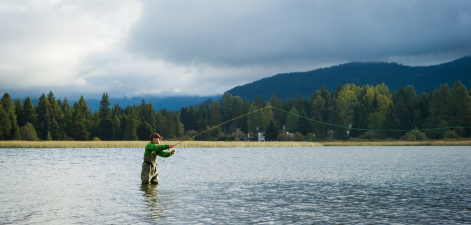 Fall Activities in Whistler include fly-fishing