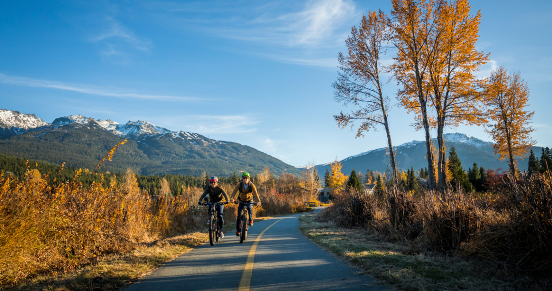 Fall in Whistler is for the chill seeker