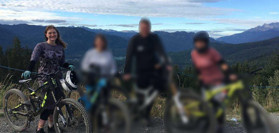 Thanksgiving Holiday Mountain Biking in Whistler, BC