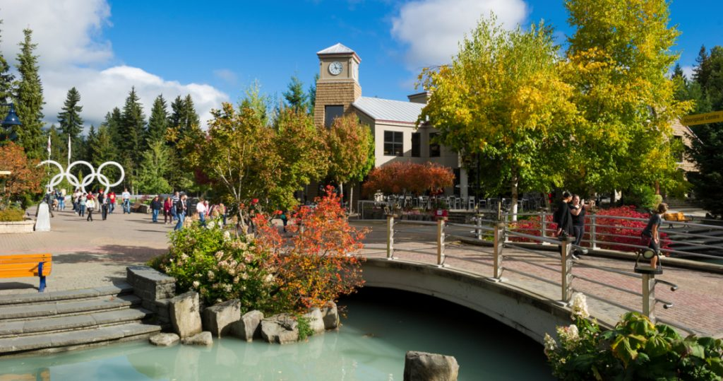 Visit Whistler Village over Thanksgiving weekend