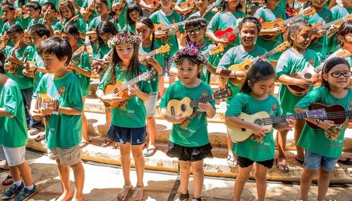 The Annual Great Waikoloa Ukulele Festival