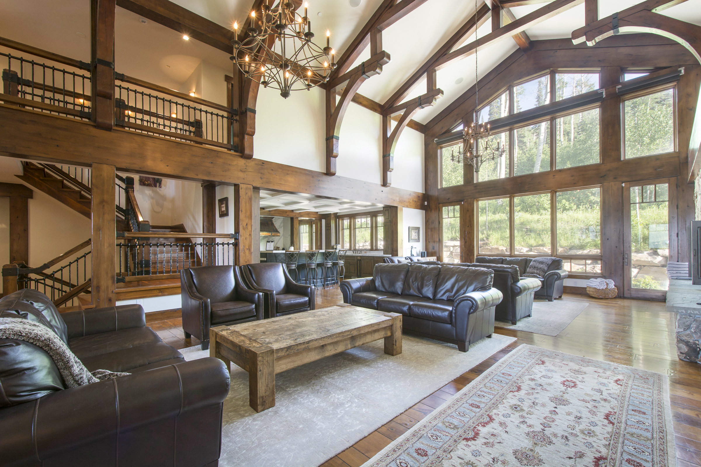Luxury ski-in/ski-out vacation rental in Park City, UT