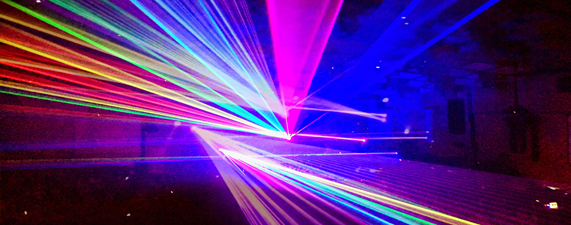 Labor Day Lasers at Lakeview