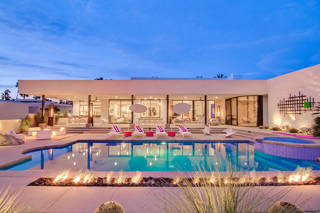 Promo-Tile-Artful-Desert-Paradise-Palm-Springs-Pool-Night-Utopian