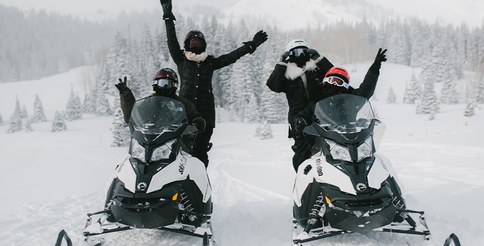 Snowmobiling-Winter-Park-City-Vacation Activities
