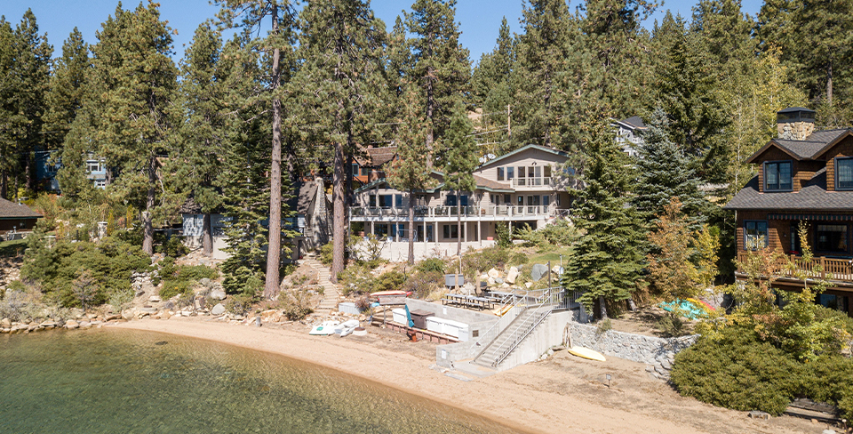 Luxury Lake Tahoe home, Marla Bay