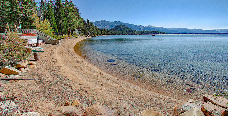 Summer views of Lake Tahoe