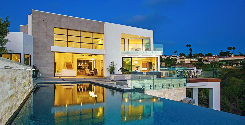 Endless Ocean Vistas exterior, La Jolla luxury home