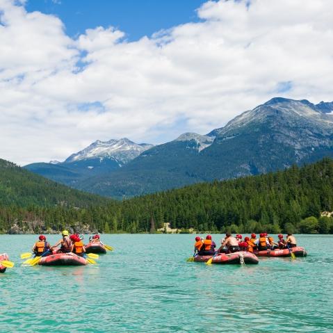 Wedge Rafting