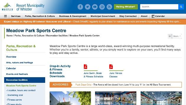 Meadow Park Sports Center