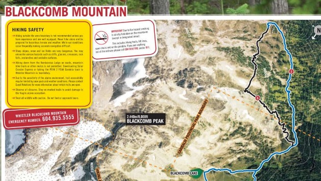 Whistler Hiking Maps