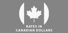 Rates in Canadian Dollars