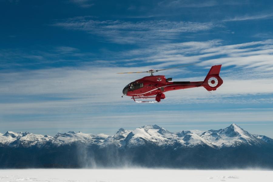 Heli Skiing with Powder Mountain