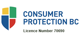 Consumer Protection BC Licence Number 70690