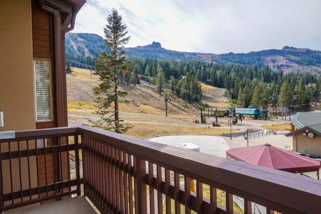 Hideout and Kirkwood wedding guests can unwind in the Mountain Club in the hot tub or fitness center